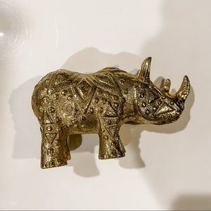 West Elm decorative rhino
